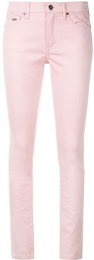 classic skinny-fit jeans - PINK