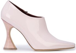 sculpted heel boots - PINK