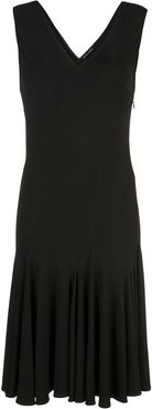 stretch viscose dress - Black
