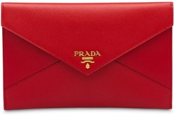 Saffiano document holder set - Red
