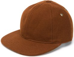 Ami Patch Baseball Cap - Brown