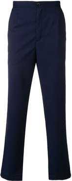 classic tapered trousers - Blue