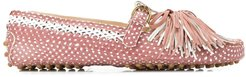 classic loafers with tassel detailing - PINK