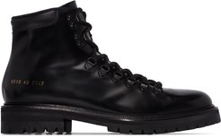ankle hiking style boots - Black