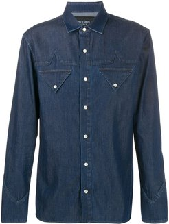 button down shirt - Blue