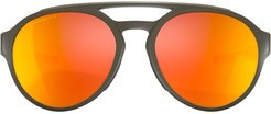 Forager aviator style sunglasses - Green