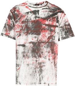 hand painted T-shirt - Red