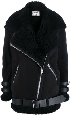 Velocite shearling jacket - Black