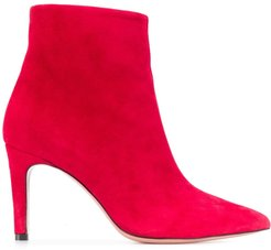 high heel boots - Red