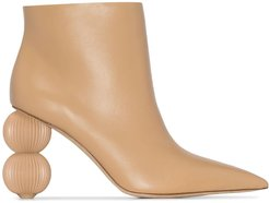 Cam 100mm ankle boots - Neutrals