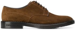 classic derby shoes - Brown