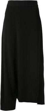 Malibu tailored skirt pants - Black