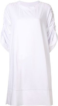Minimize shirt dress - White