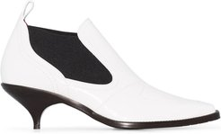 Kora 55mm ankle boots - White
