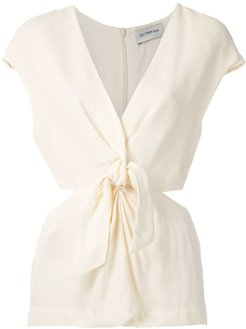 Magnolia front knot blouse - OFF