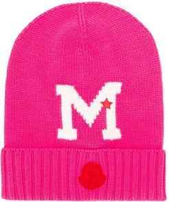 M knitted hat - PINK