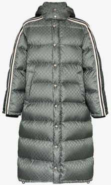 GG printed padded coat