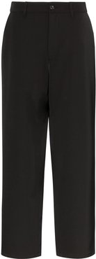 loose-fit tailored trousers - Black