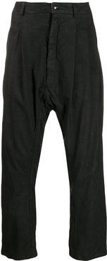 slouch trousers - Black
