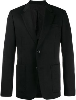 Two Buttons Jacket - Black
