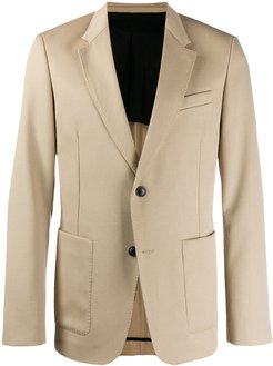 two buttons jacket - Neutrals