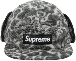 camouflage logo patch cap - Grey