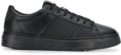 smooth surface sneakers - Black