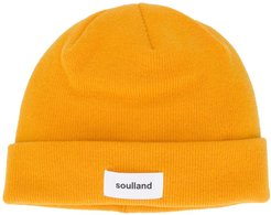 Villy double-layered beanie - Yellow