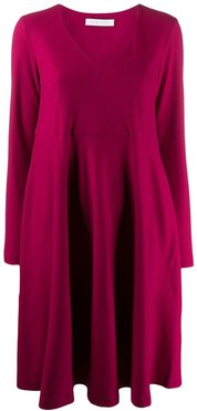relaxed midi dress - PINK