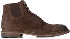 Hammond vintage-style ankle boots - Brown