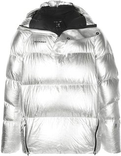THE IN padded jacket - SILVER
