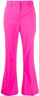 kick-flare trousers - PINK