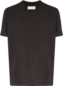 cotton T-shirt - Black
