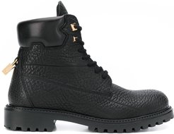 Site lace-up ankle boots - Black