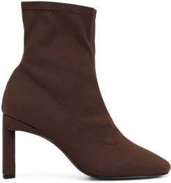 Tatum heeled ankle boots - Brown