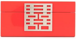 Double Happiness small jewellery box - Red