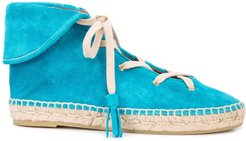 Gus espadrille boots - Blue