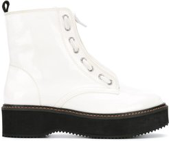 Rhi ankle boots - White