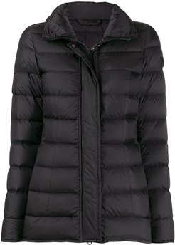 short padded coat - Black