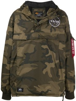 camouflage sport jacket - Green