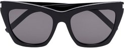Kate D-frame sunglasses - Black