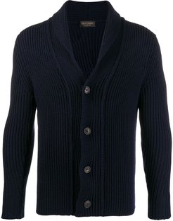 button up sweater - Blue