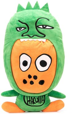 Grizzly character pillow - Green