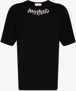 embroidered boyfriend T-shirt