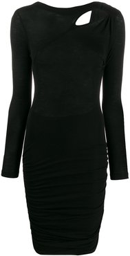 fitted Penn dress - Black