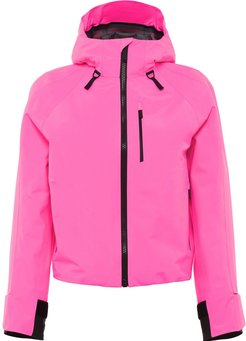 hooded technical jacket - PINK