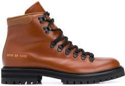 signature hiking boots - Brown