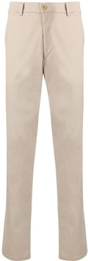 straight-leg chino trousers - Neutrals
