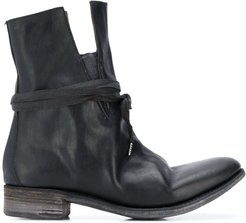 distressed boots - Black
