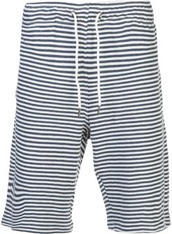 Saul Coco Stripe terry short - Blue